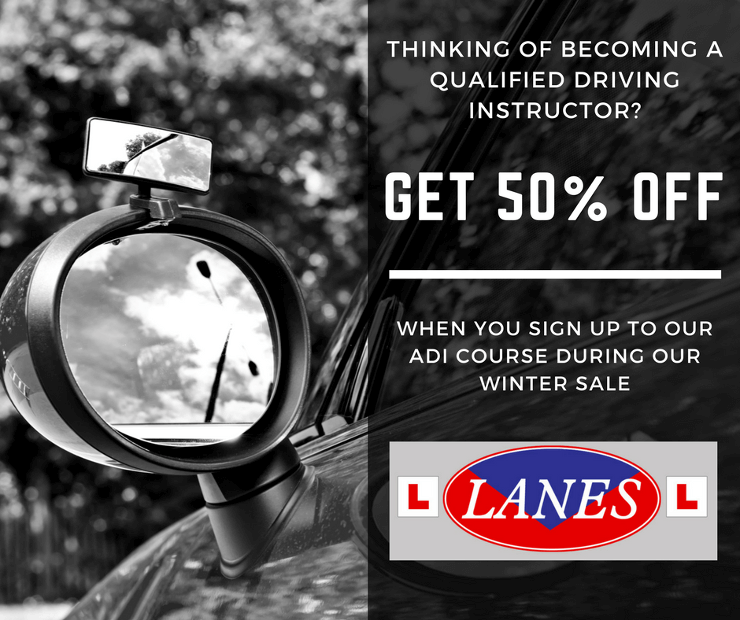 Thinking of becoming a Qualified Driving Instructor? 50% Winter Sale