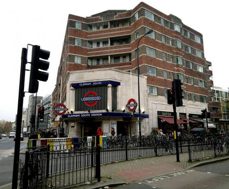 Clapham South in South West London