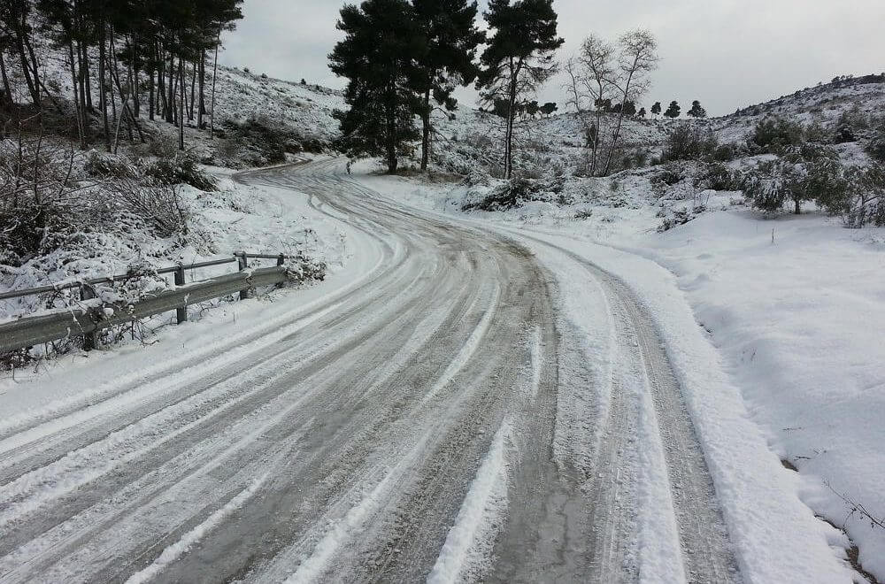 Driving in icy conditions