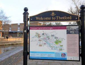 Thetford_town_centre